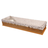 Polyester Satin coffin Lining coffin interiors coffin liner with goood quality satin fabric
